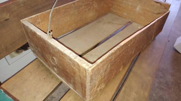 Antique retail apple crate virginia nice condition for Antique apple crates
