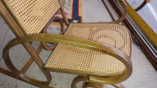 Bent Wood Rocking Chair U2013 Vintage With Cane Seat U0026 Back U2013 Wonderful.  00s0s_7rbPfZgqKgb_600x450. ; 