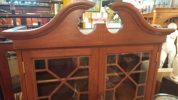 Antique Drop Leaf Table >> Antique Secretary Desk / Drop Front w/ Book Self Hutch Top ...
