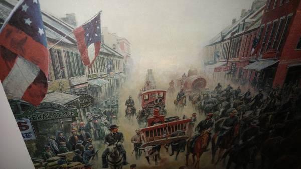 Mort Kunstler Signed Print Civil War Wincheter Va