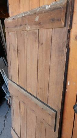 Antique Farm House Attic Door Small Early Made Nice