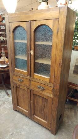 Antique Pie Safe Modified Beautiful Cupboard Cabinet