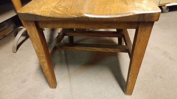 Antique Oak Desk Chair – Solid and Heavy Chair – So Nice! – Long Valley  Traders - Antique Oak Desk Chair – Solid And Heavy Chair – So Nice! – Long