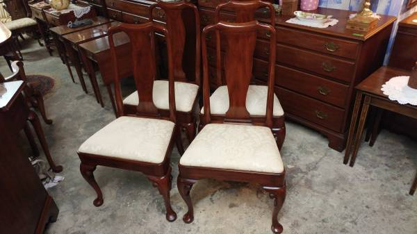 Henkel Harris 4 Solid Cherry Dining Chairs U2013 Wonderful Condition.  00000_1QS1XAaOrvh_600x450