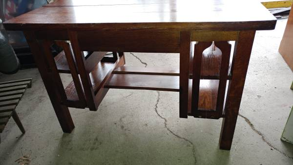 Antique Mission Arts and Crafts Solid Oak Desk – Early and Nice!  00v0v_jvBWwykcVD7_600x450. ;  - Antique Mission Arts And Crafts Solid Oak Desk – Early And Nice