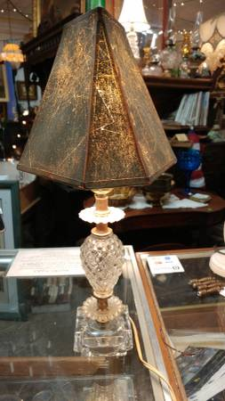 Vintage Small Vanity Table Lamp W Art Deco Shade So Cool 00x0x Jr6hscvment 600x450