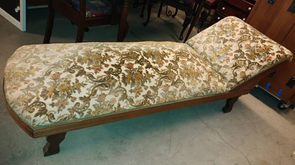 Antique Fainting Couch Chaise Lounge 1800 S Nice Condition 00l0l Oqa8sme3ur 600x450