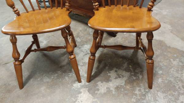2 Maple Ethan Allen Dining Chairs Great Condition Strong 00x0x Hzdpidfyf08 600x450