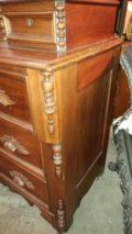 Antique 1800 S Cherry Vanity Dresser