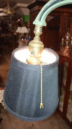 Art Deco Floor Lamp Iron And Brass So Beautiful Long
