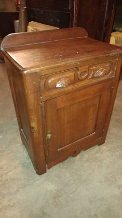 google kitchen cabinets antique early side table pine wood drawer and cabinet 15974
