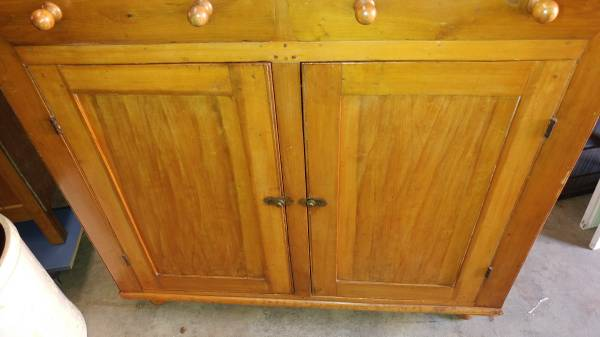 Antique Jelly Cupboard Mid 1800 S
