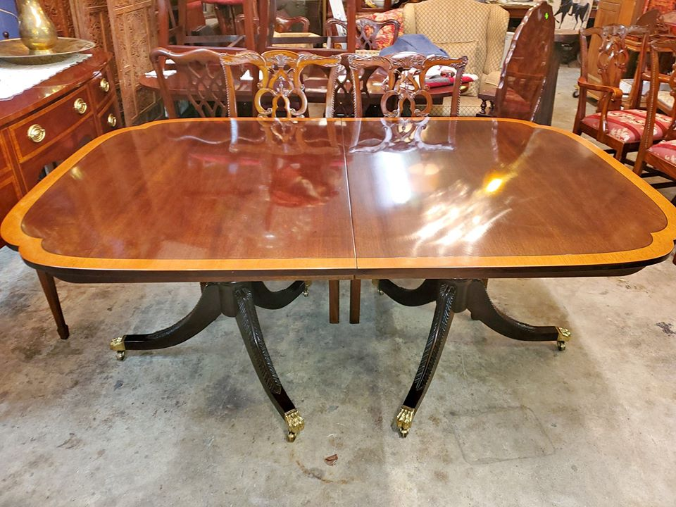 Stickley Mahogany Dining Table Duncan, Used Stickley Dining Room Furniture
